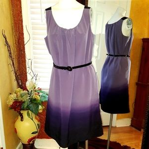 Simply Vera Vera Wang ombre Purple dress 12